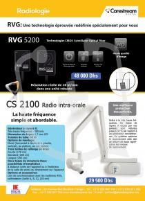 RVG 5200 & CS 2100 Radio intra-orale| santeannonces.ma